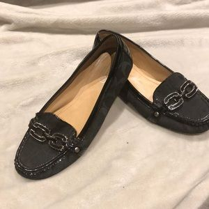 Vintage Signature Coach Loafers